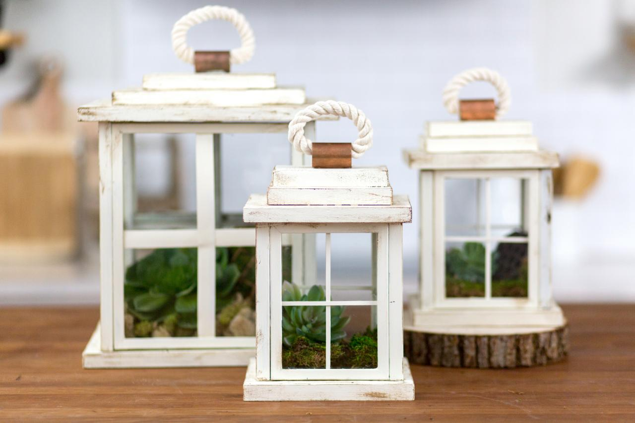Wooden frames into the garden frame