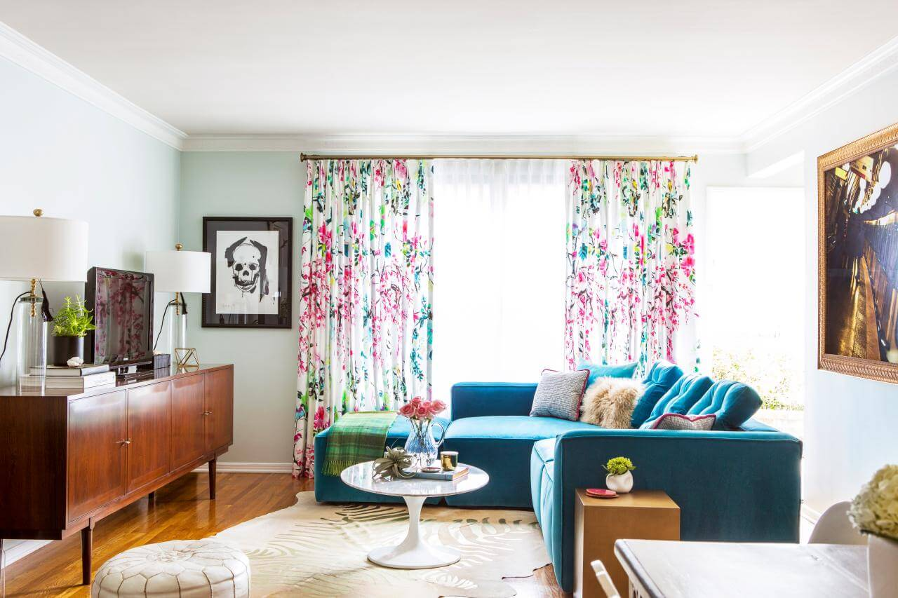 Designer curtains for your apartment:
