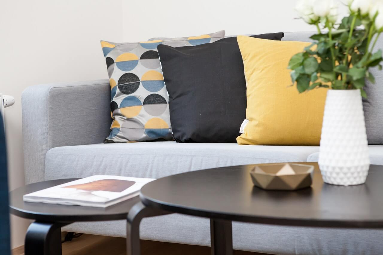 cushions to bring the coziness