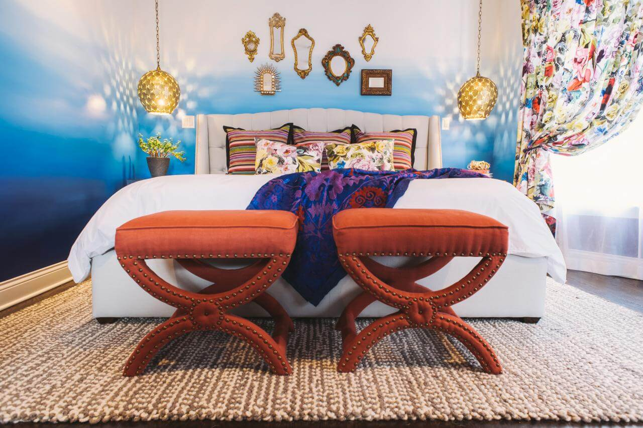 Boho themes for master bedroom decorating