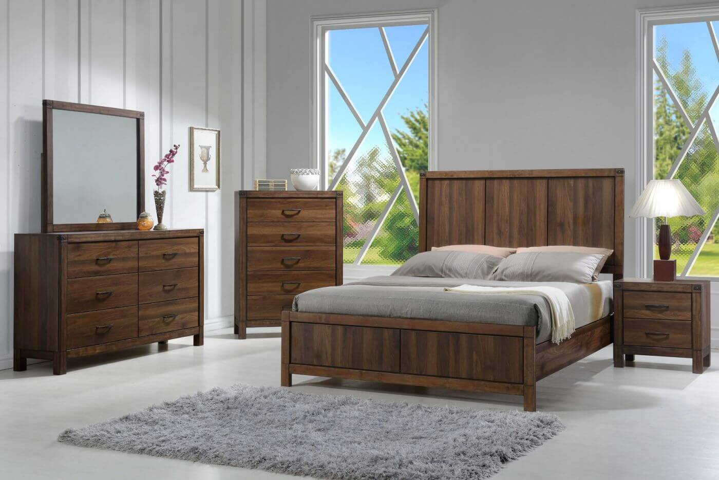 Footboard master bedroom decorating ideas