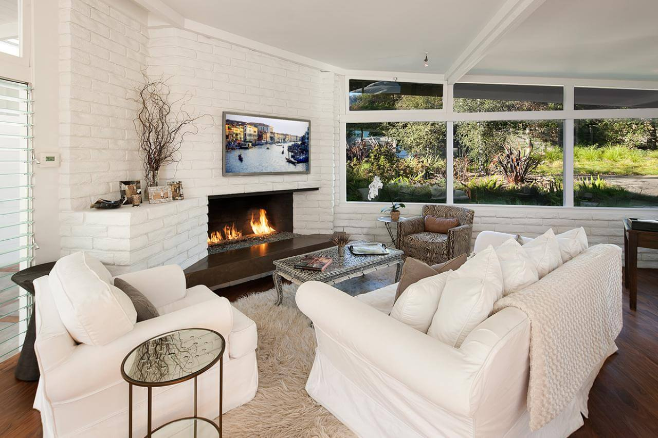 Fireplace master bedroom decorating ideas