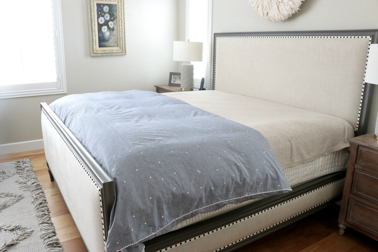 Layer your bed linens