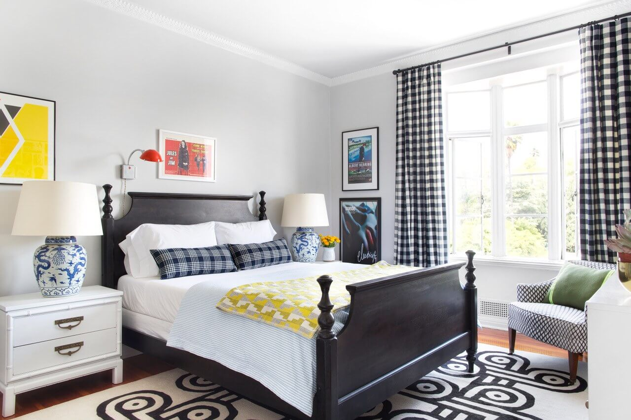 simple and sophisticated bedroom