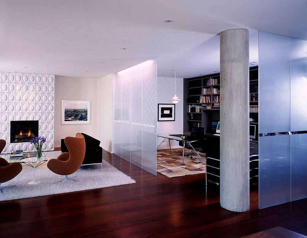 partition to your Living room