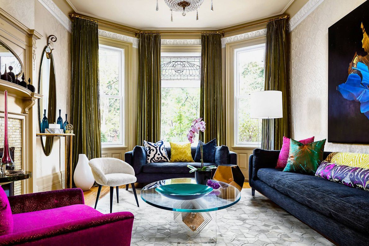 Jewel-Toned Colour combination