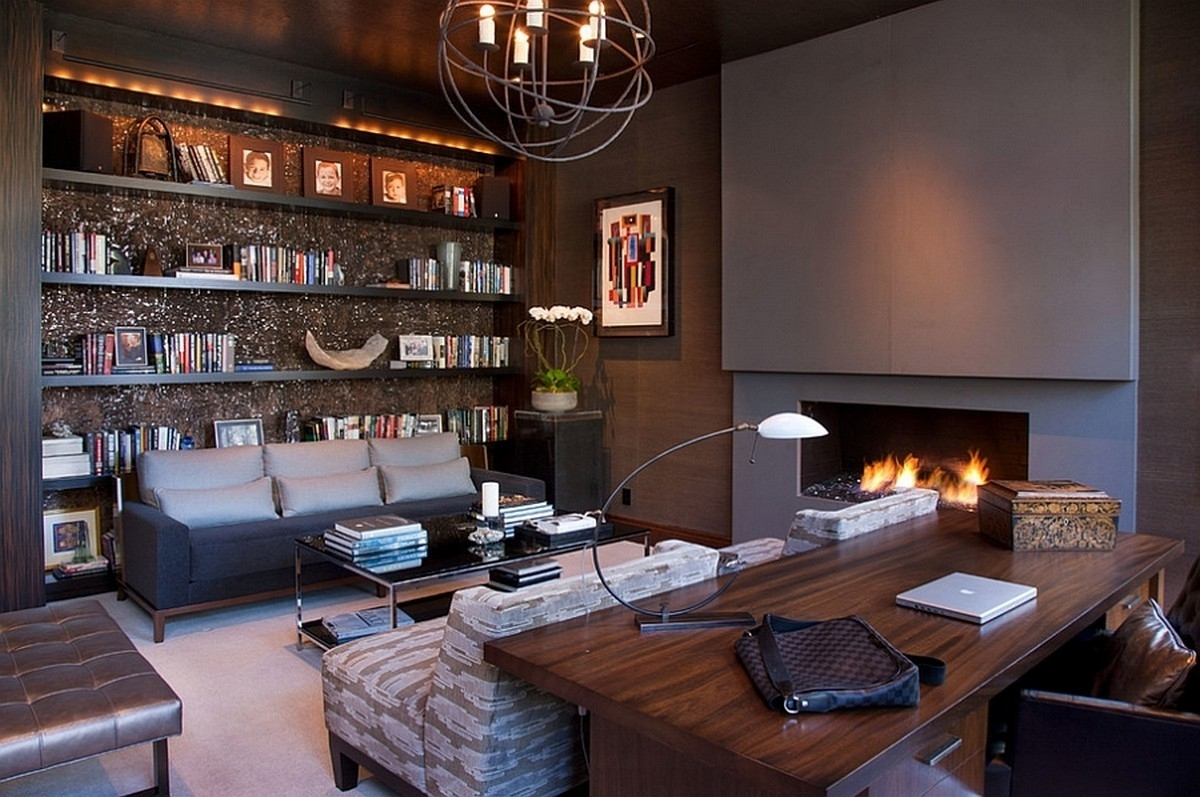 chic small office