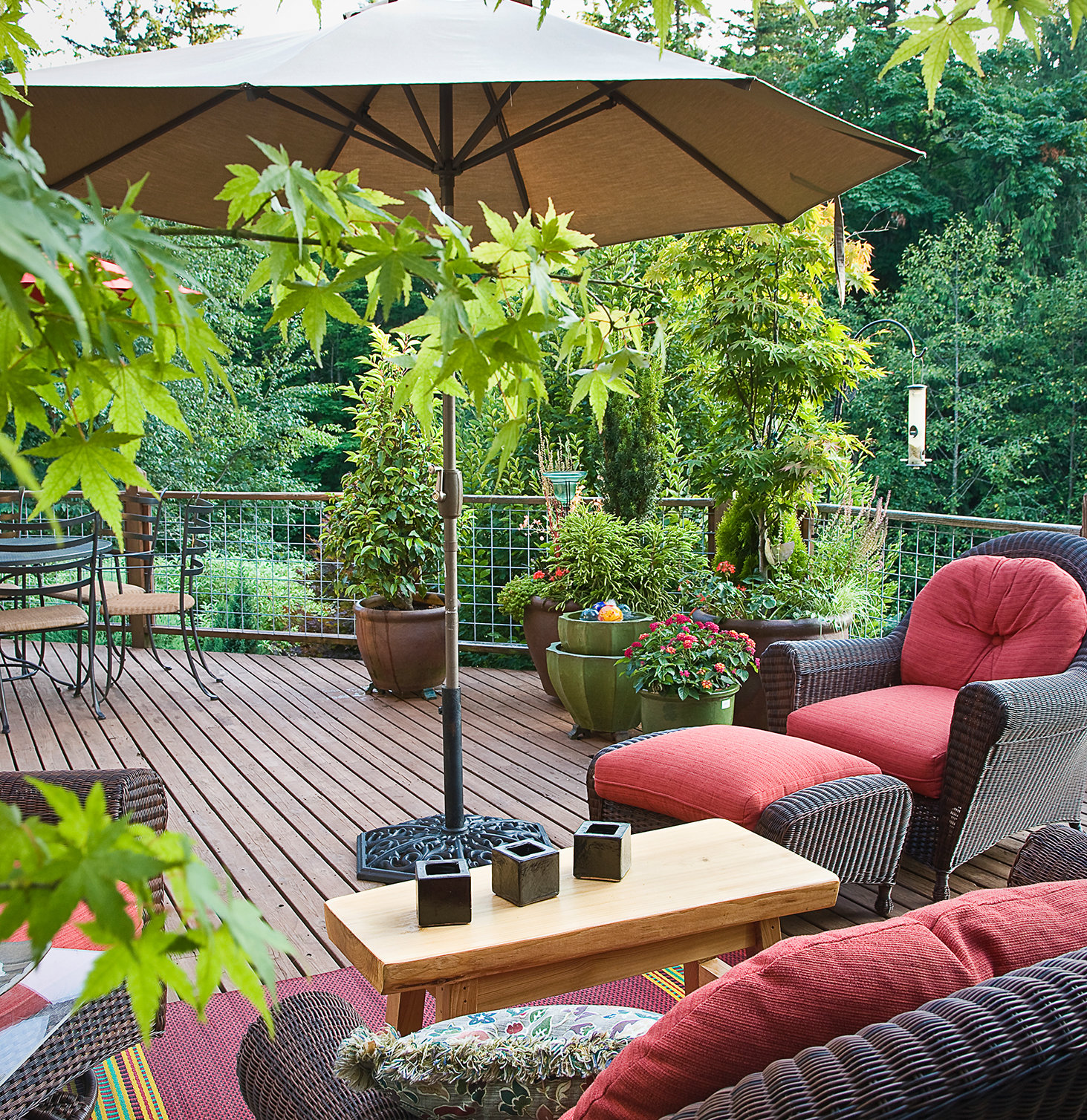Small Patio With Shade