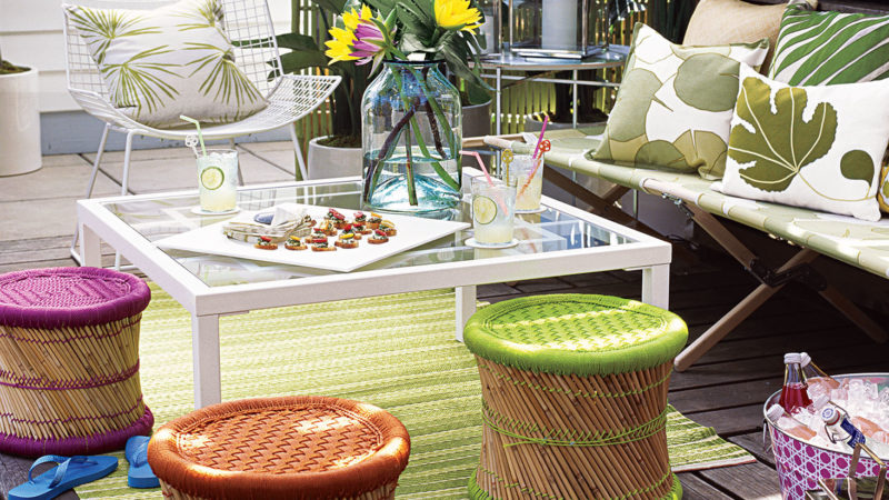 Embrace The Exterior Of Your Home With These Small Patio Ideas