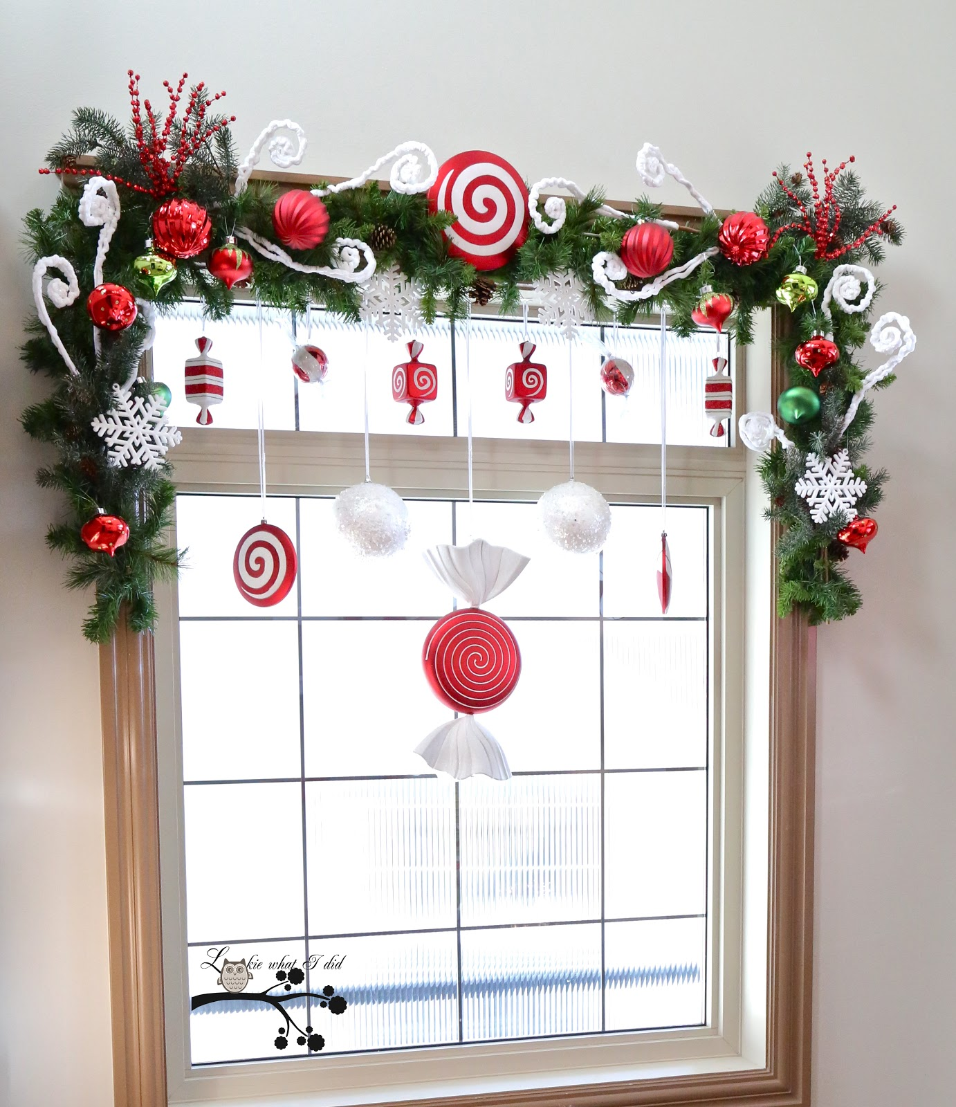 Christmas Paper Craft For Window Decor