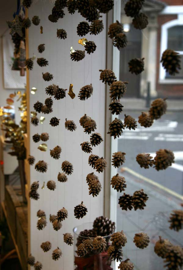 Pinecones And Acorns Hangings