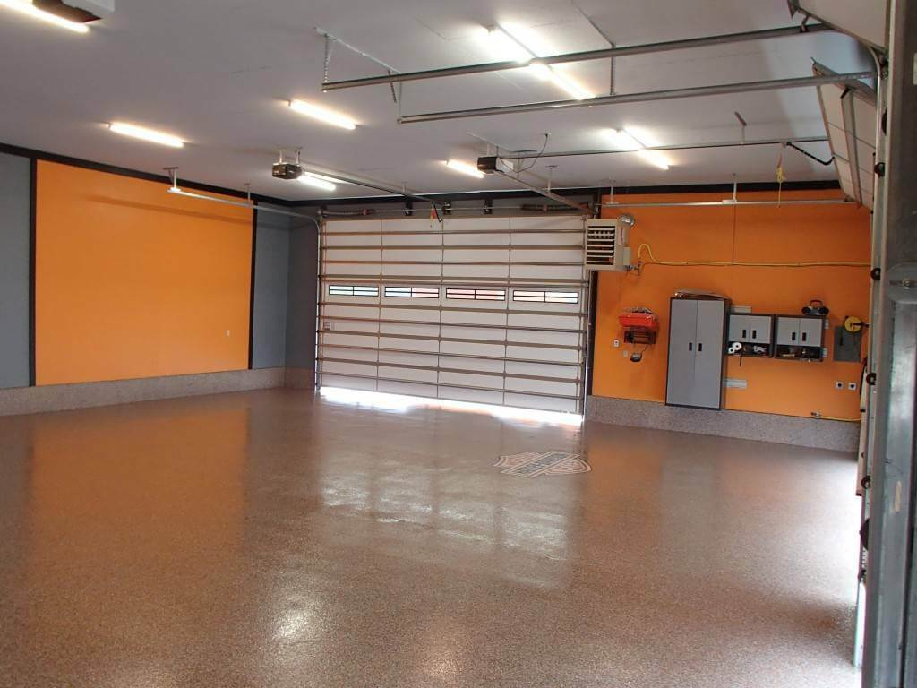 garage interior paint ideas