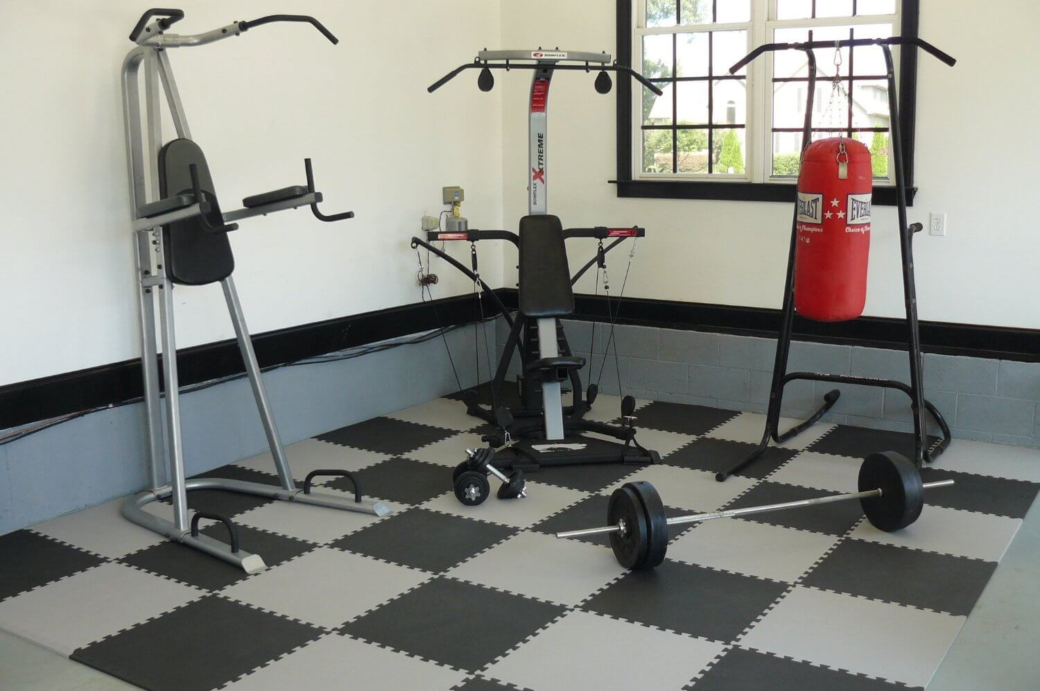 Foam Tiles home gym flooring