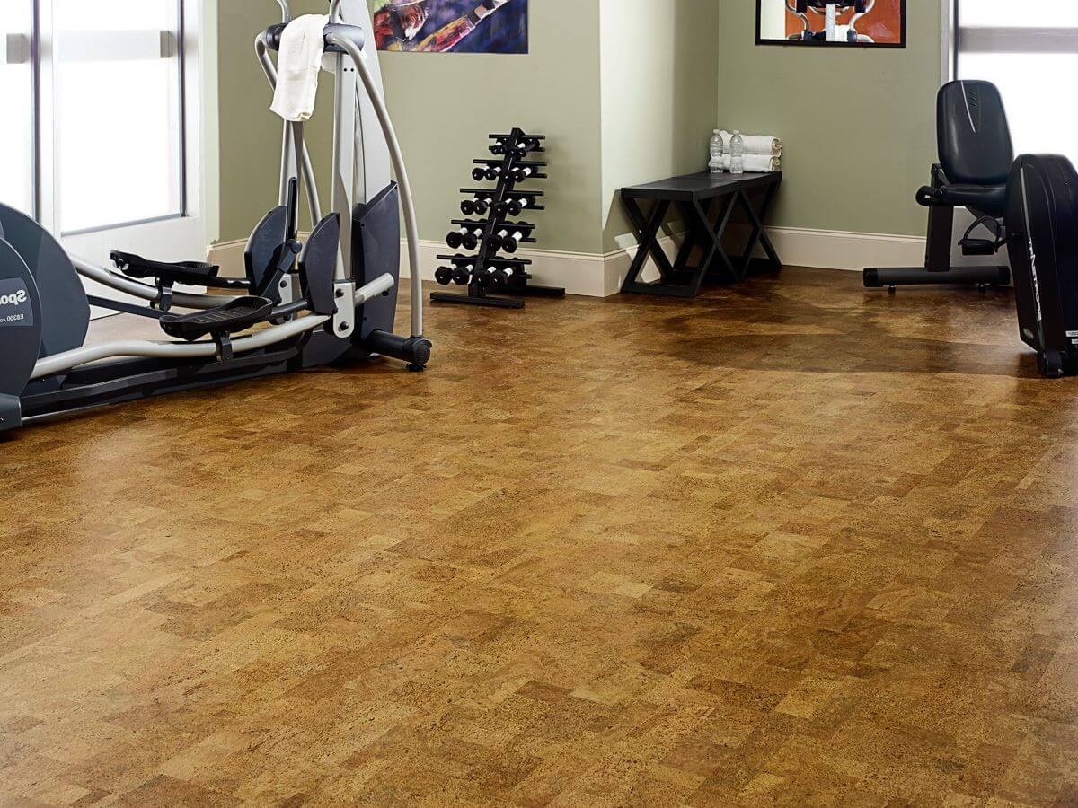 Cork gym Flooring