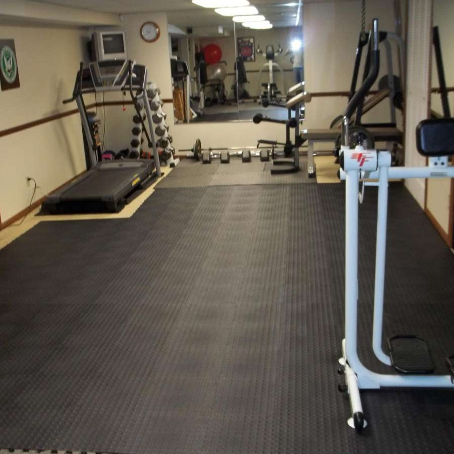 Carpet flooring for gym