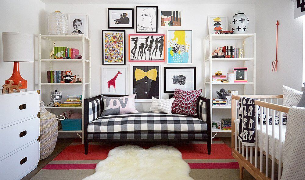Add Neutral Colored Shelves