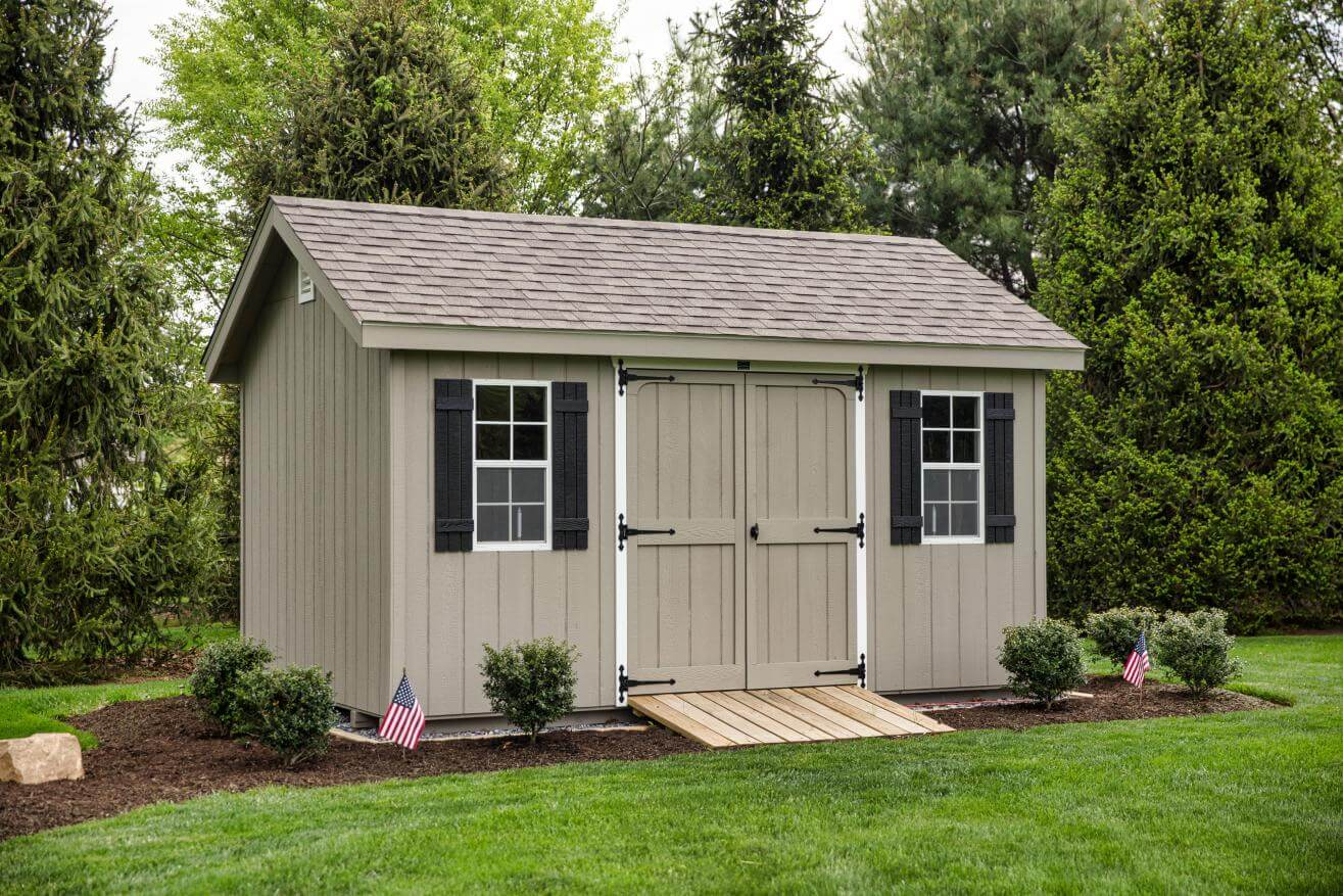 Storage Sheds in patio