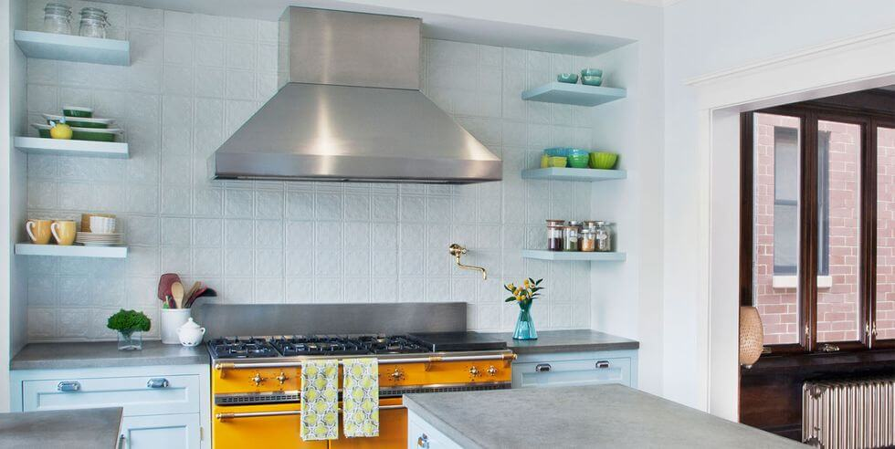 Match the Floating Shelves with the Wall Color