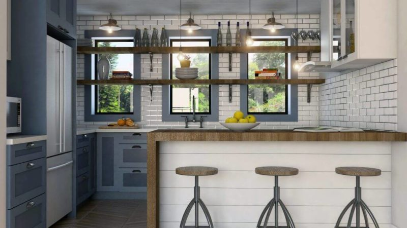 Open Shelving Kitchen – Give An Ultimate Makeover To The Cook-Area