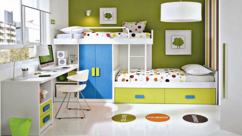 Home Decor Ideas for Your Kids Room to Make It More Fun
