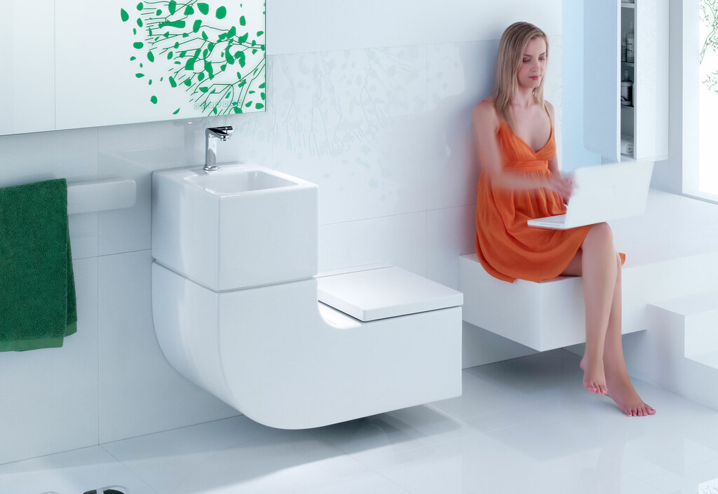 Toilet Sink Combo: Save the Space in Your Bathroom With It