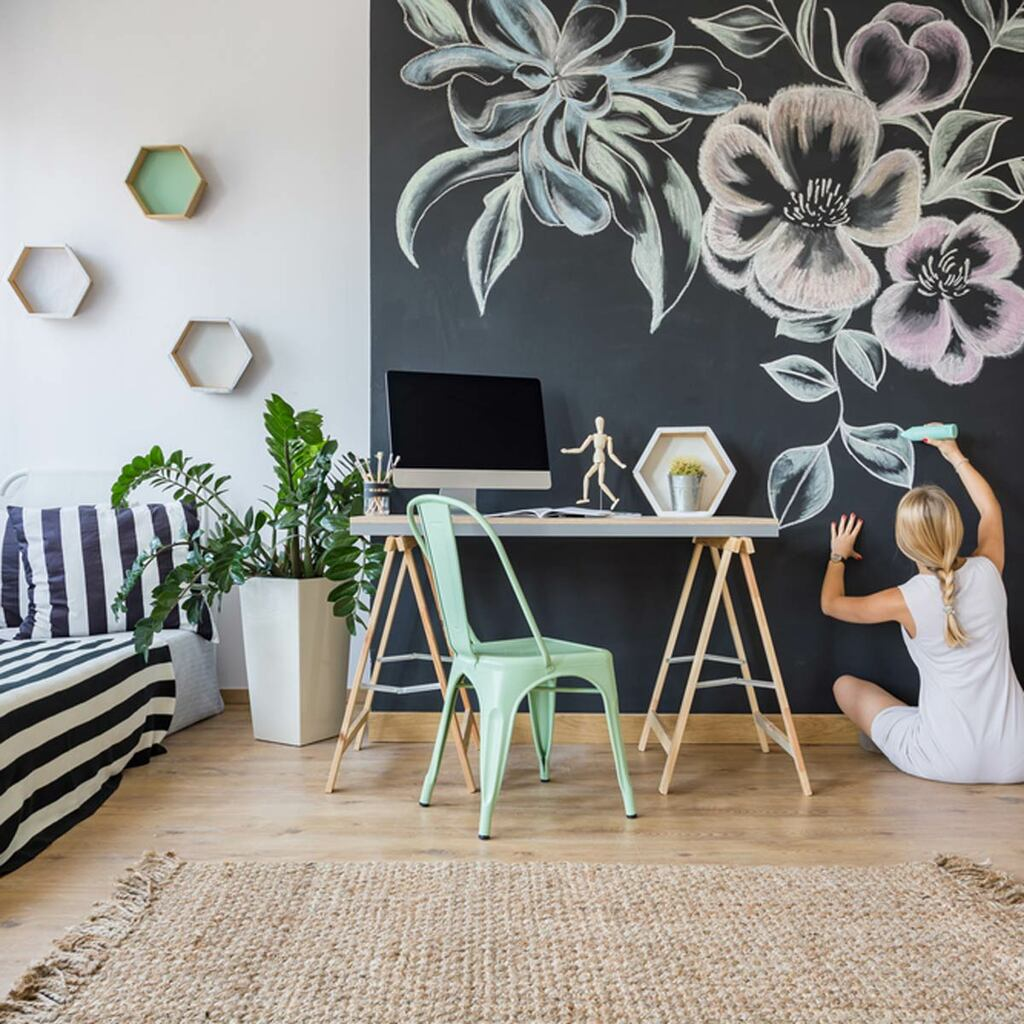 9 Trendy & Creative Wall Painting Ideas to Transform Any Room into a Piece of Art!