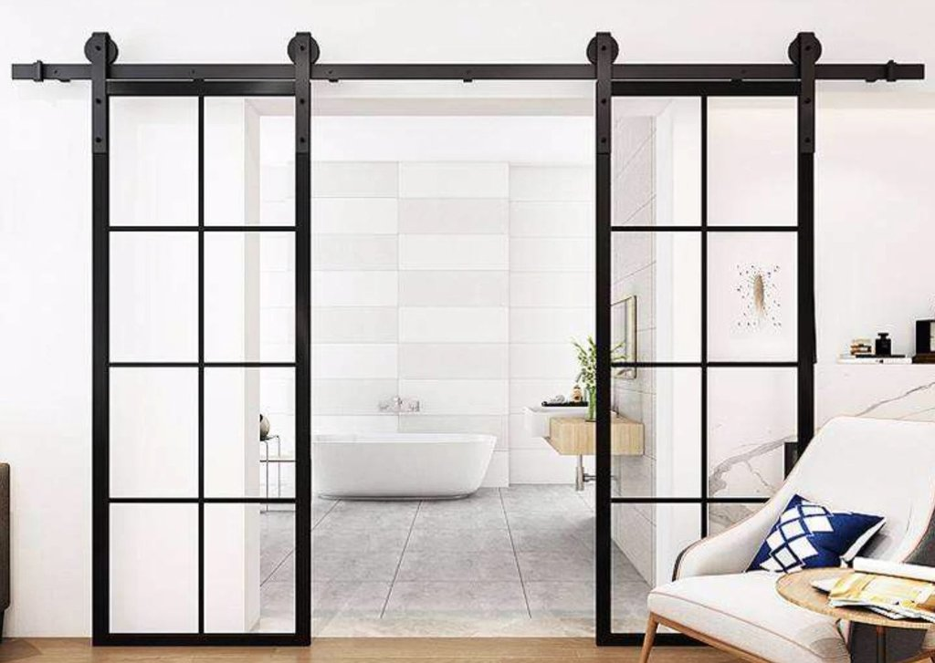 Glass Barn Doors: A Functional Piece of Art (Few Ideas Included)