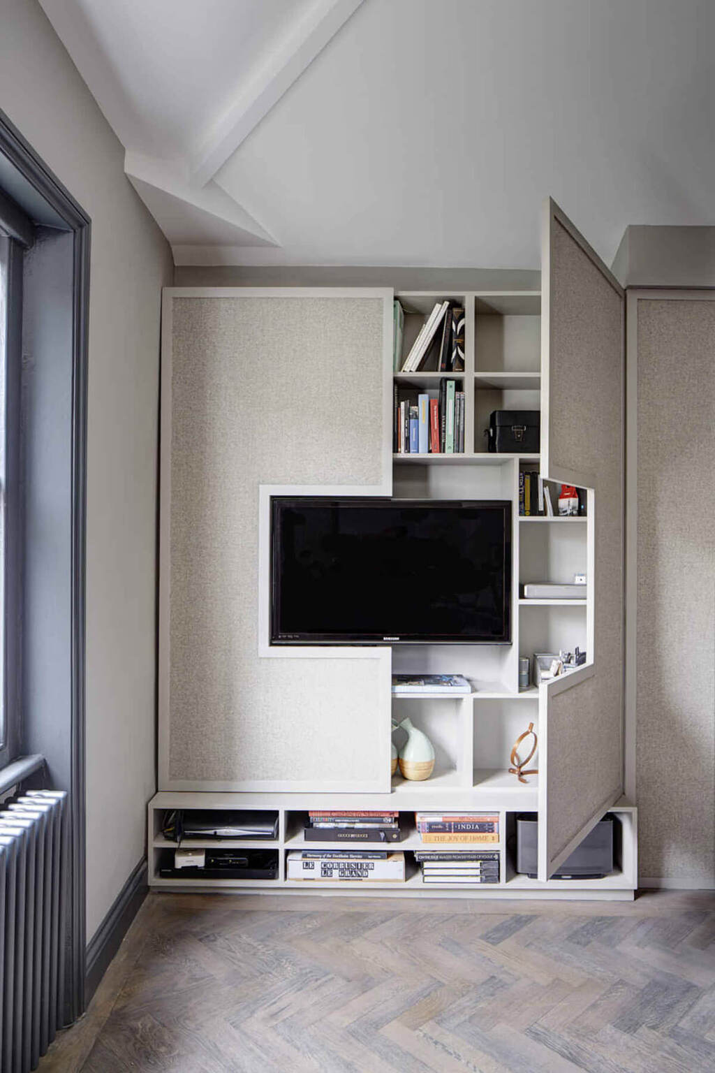 Wall Design With Cabinets