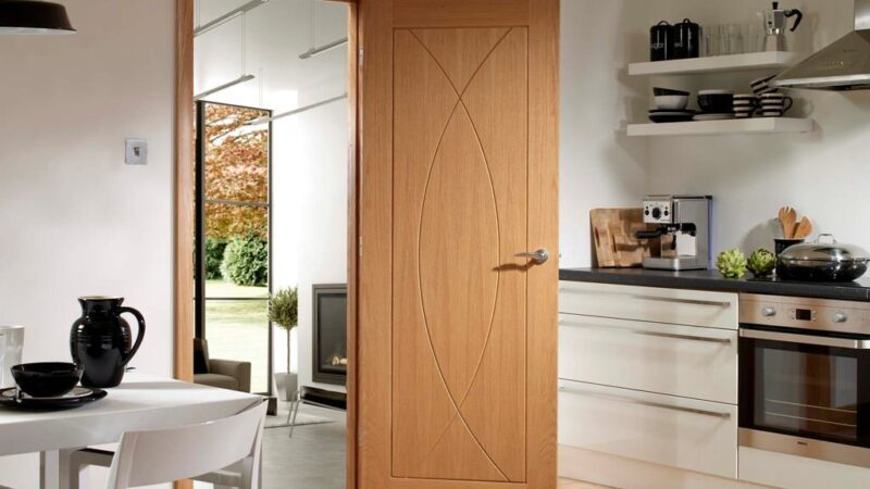 Attractive Mid Century Modern Interior Doors for a Beautifying Look