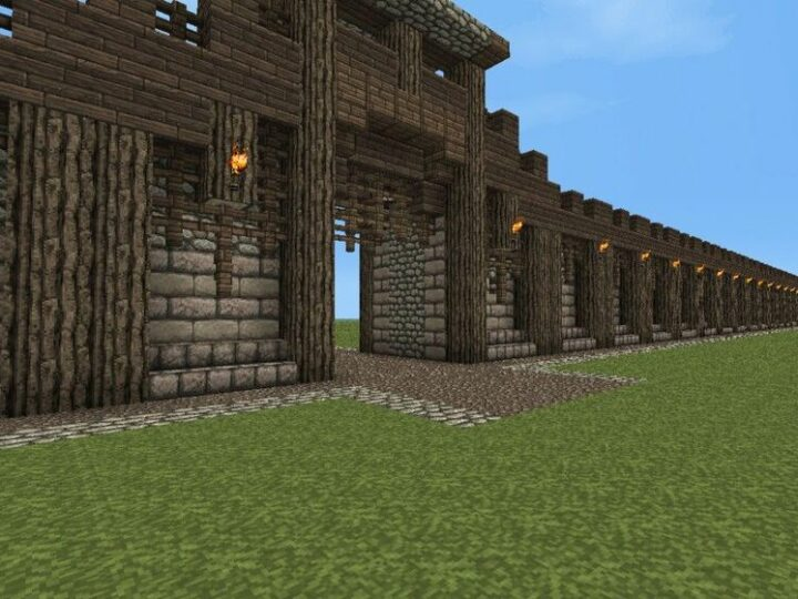 Incredible Minecraft Wall Ideas – 21 Brilliant Inspirations to Build Your Dream Home