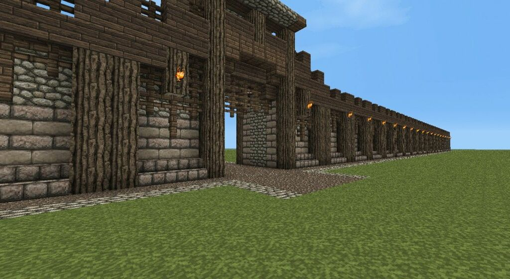 21 Brilliant Minecraft wall Designs Inspirations to Build Your Home