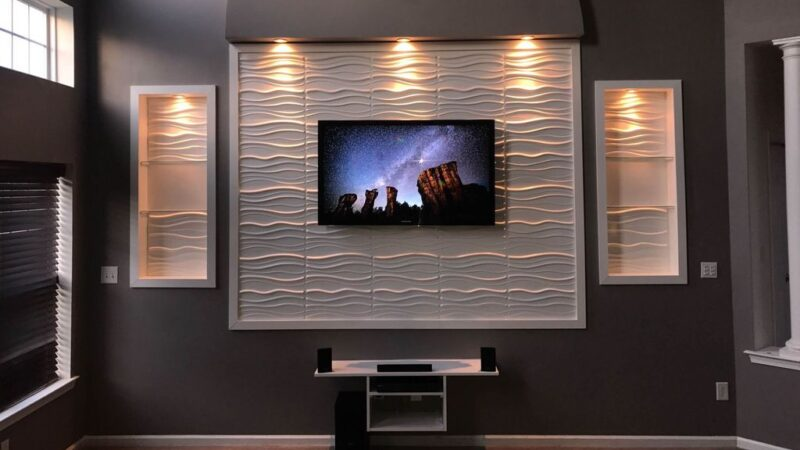 40+ Stylish and Trendy LED TV Wall Panel Designs For Your Living Room!