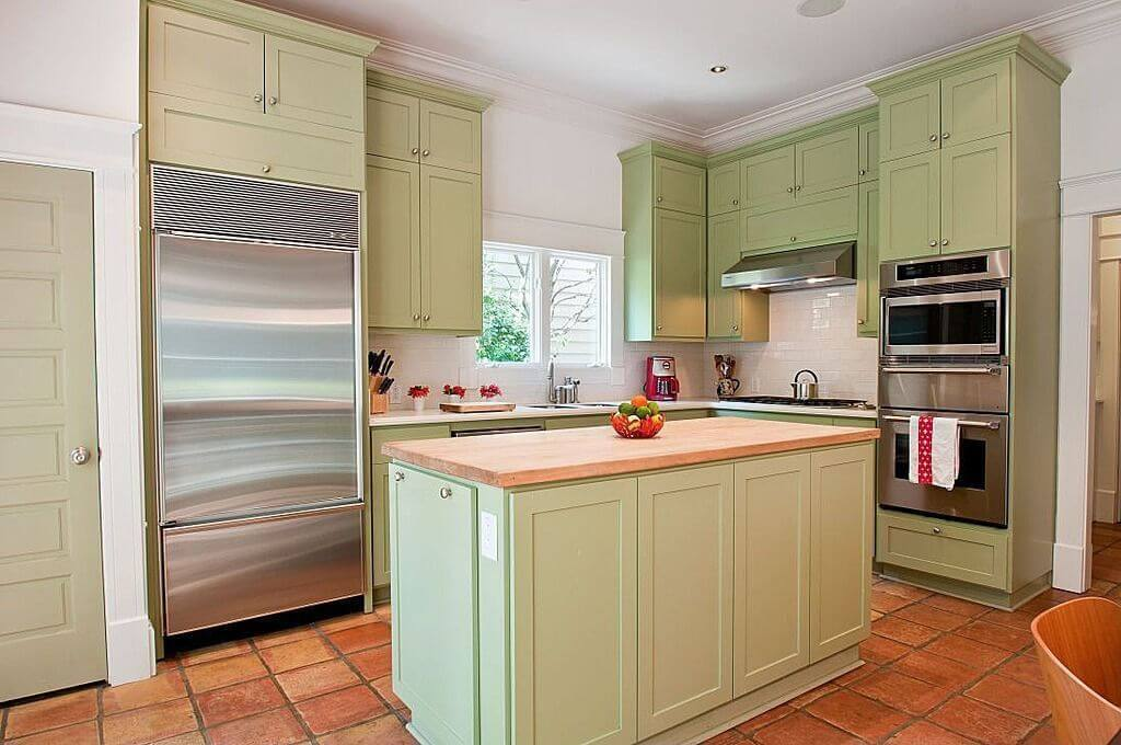 how to paint laminate cabinets