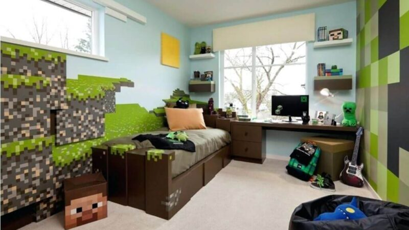 Easy and Creative Minecraft Bedroom Ideas And Themes You Can Use