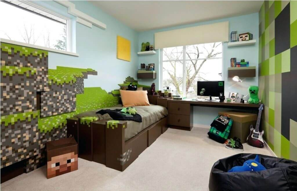 Minecraft Bedroom Ideas Make Your Bedroom Looks Attractive