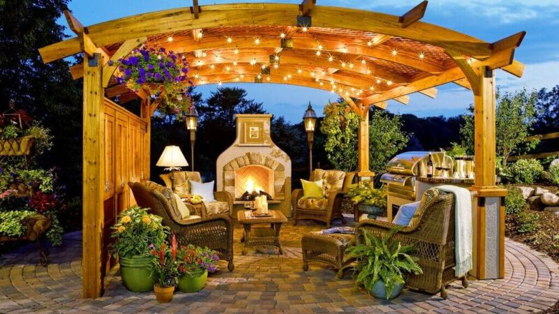 Spruce Up Your Outdoor Living Area