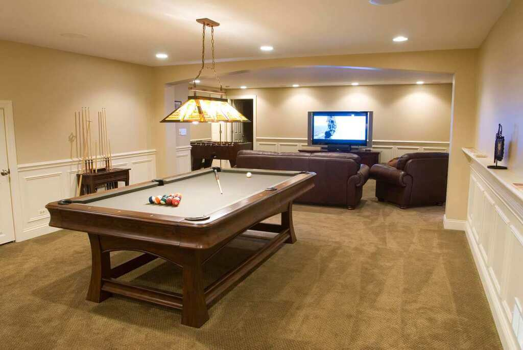 Create a Unique Space in Your Basement