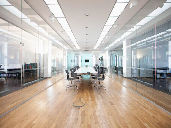 LED Panel Lights—Design Compatibility for Offices