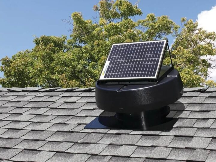 Turn Attics from Bane to Boon with Solar Attic Fan