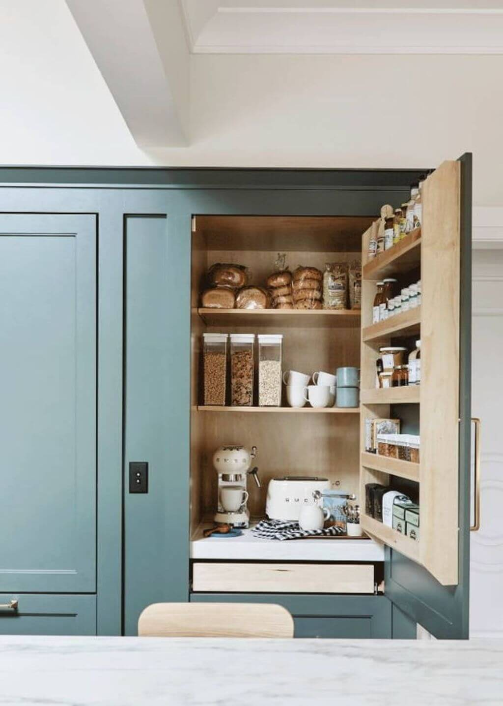 coffee bar ideas for kitchen