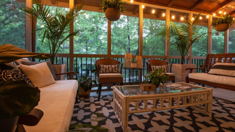 Screened in Patio Ideas, Screen Porch Ideas on a Budget