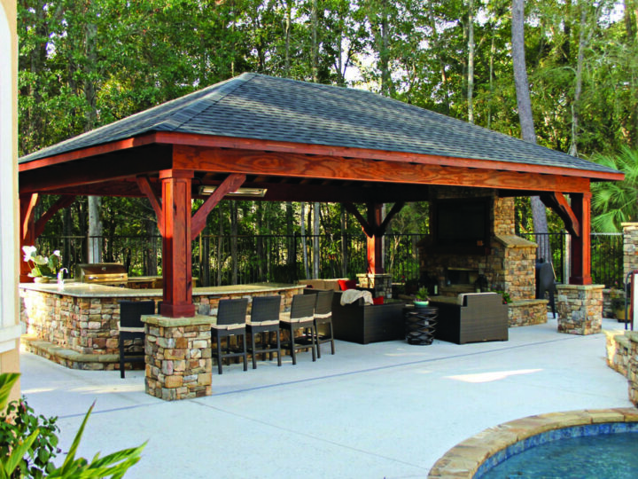 One-Stop Destination For All The Best Backyard Pavilion Ideas